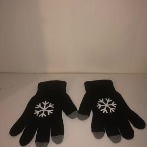 Glove design with fingerprint for phone